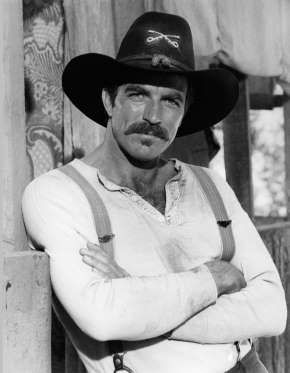 "Howdy, cowboy! Tom Selleck raised temperatures in 1982's ""The Shadow Riders."" - CBS/REX/Shutterstock/Rex USA"