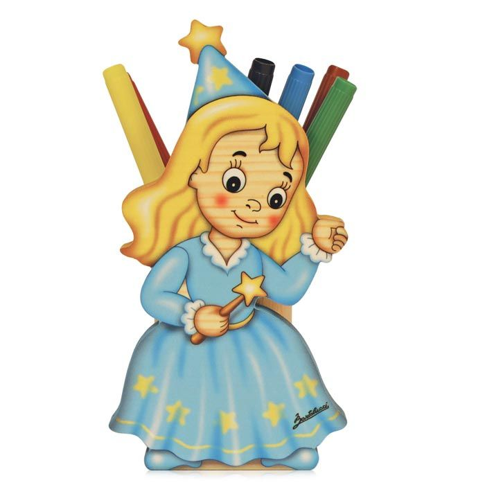 Fairy Pen Holder | Brighten Up a Kids Desk | Made in Italy by Bartolucci