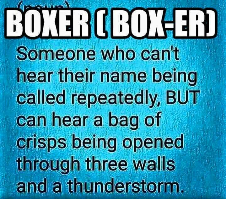 True! More