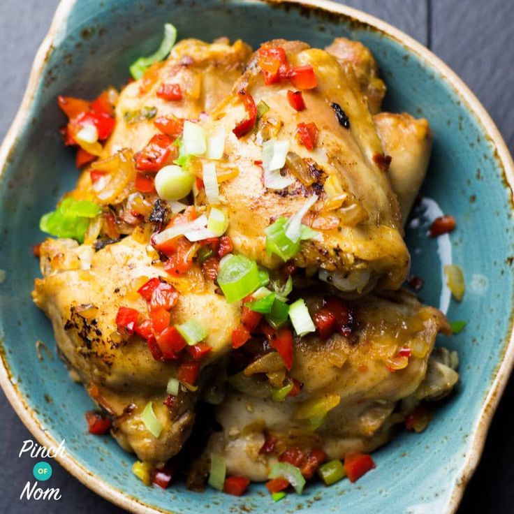 We've had Salt and Pepper Pork on the site for a while, so we thought we'd add a Slimming World friendly Syn Free Salt and Pepper Chicken to the list too.