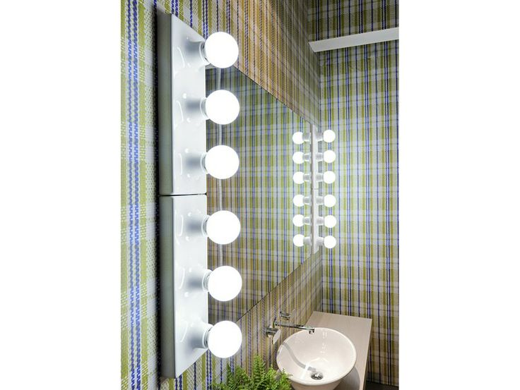 Bathroom mirror with light, design by Paola Navone (2011)
