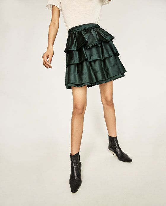 Image 2 of FRILLED SKIRT from Zara