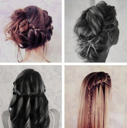 need to learn how to do all of them!French Braids, Hair Ideas, Braids Hairstyles, Beautiful Hairstyles, Awesome Hairstyles, Makeup, Bridesmaid, Hair Style, Pretty Hair