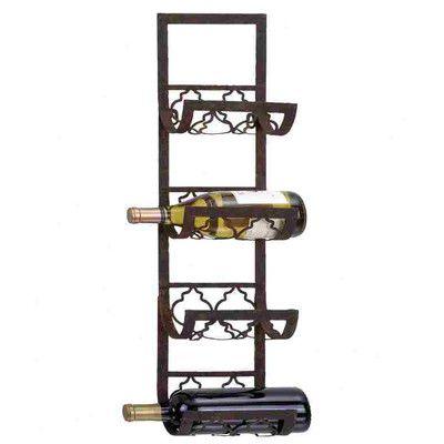 4 bottle wall mounted wine rack for sale wayfair - Wine Racks For Sale