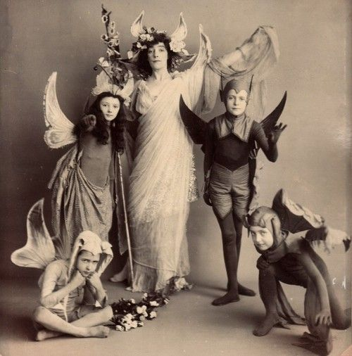 Edwardian Halloween Costume Photo