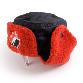 Because baby, it's cold outside. Hockey Canada – Trapper Hat.