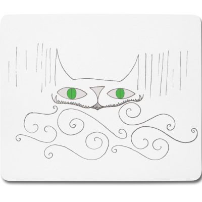 """Smiley Cat"" Mouse pad"