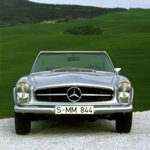 The vintage (W113) Mercedes Benz SL's devastate me. Completely.