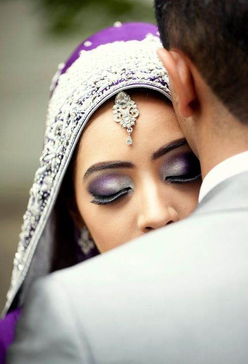 Such a pretty makeup!         Aline for Indian Weddings