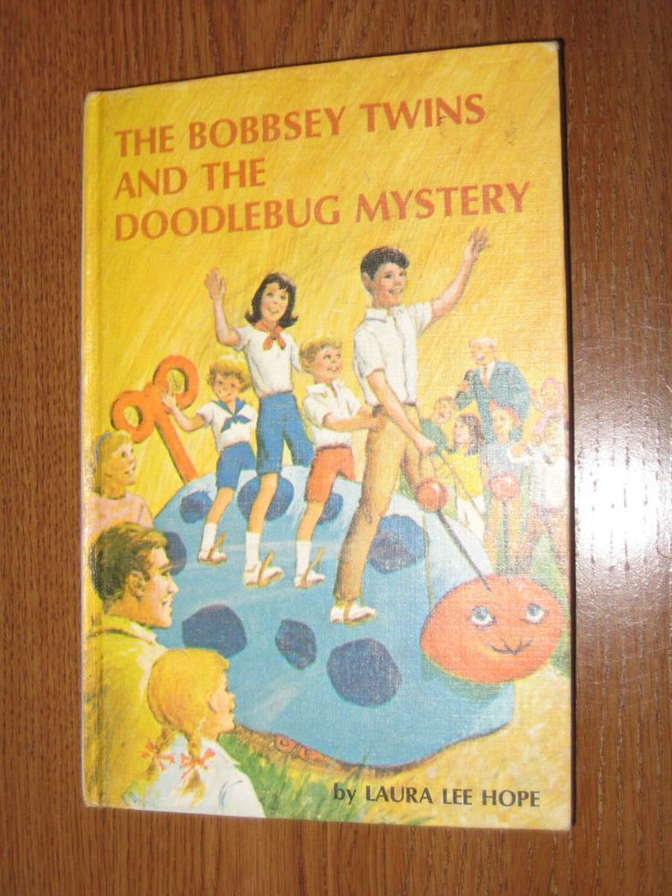 The Bobbsey Twins And Doodlebug Mystery By Laura Lee Hope 1969 Hardback