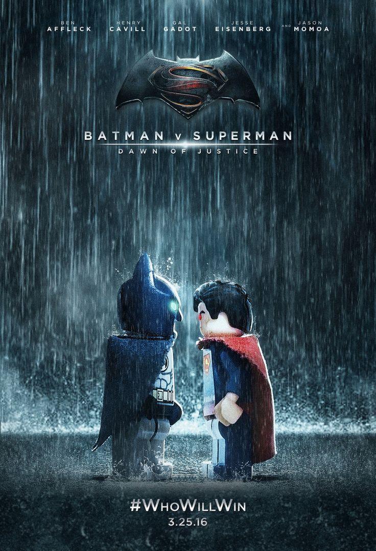 Lego Batman v Superman Dawn of Justice by DJ Mog #GaneschaBotTest