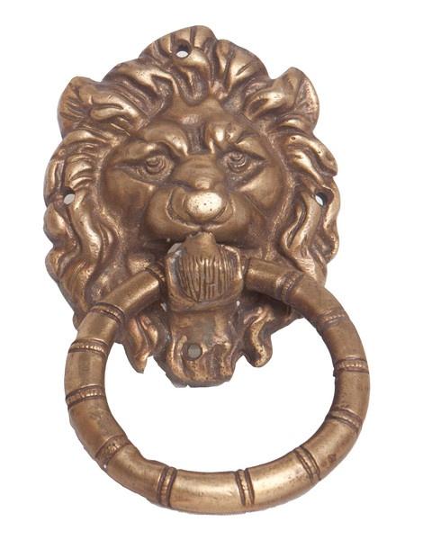 Brass Lion Doorknocker Vintage One Of A Kind Finds