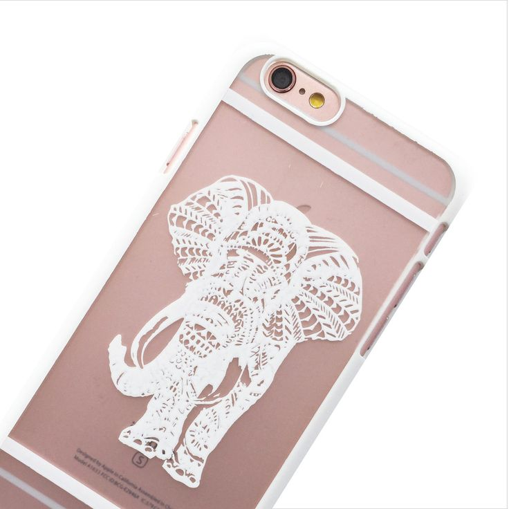 Carry the spirit of elephants with you, symbolizing strength and loyalty. This case snaps perfectly on your phone to protect it against minor bumps. Colour: White High quality polycarbonate material C