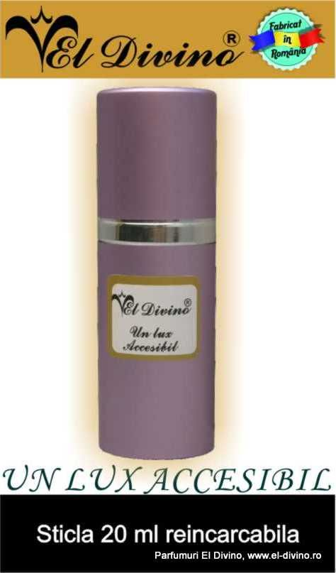 Sticla parfumuri vrac mov 20 ml