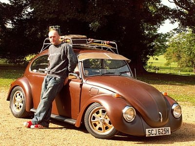1970 vw beetle / haha had to repin this - EW!!!! y wud anyone choose this colour? poo brown.. really?