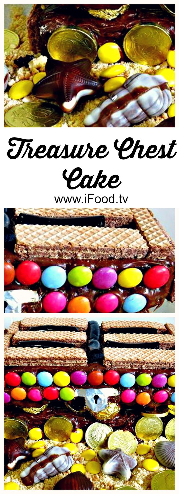 A lil' something for the kids - #Treasure Chest #Cake!