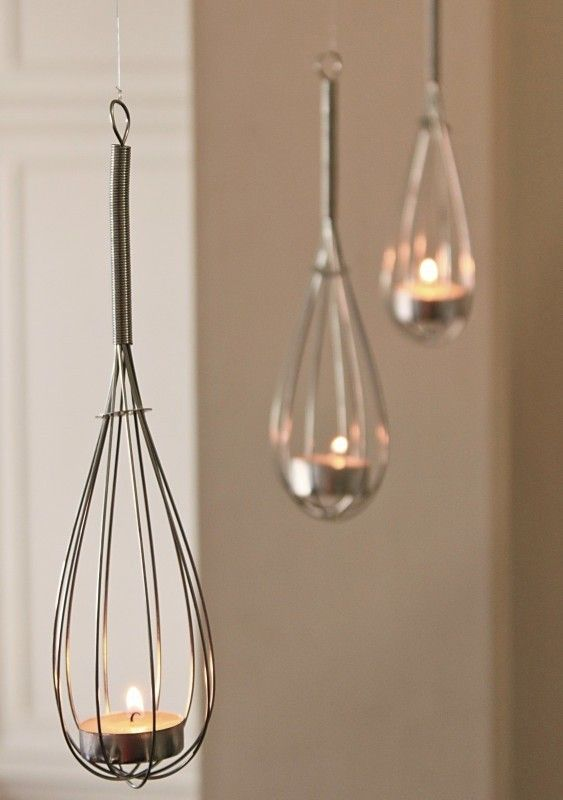 Whisk Candle Holder | Remodelista