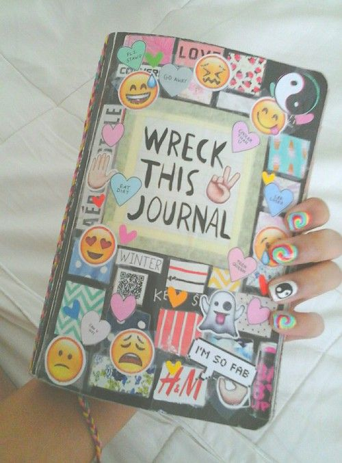 Wreck This Journal Book Cover Ideas : Best images about wreck this journal ideas on