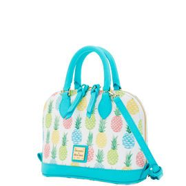 Dooney & Bourke | Tiki Bitsy Bag| Spring Fashion    Teal | Teal Handbag | Teal Accessory | Teal Accessories | Teal Purse | Fashion | Style | Bold | Bright Handbag | Bright Color