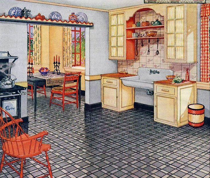 a 1926 kitchen
