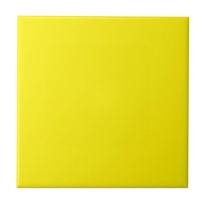 yellow ceramic tile zazzle com