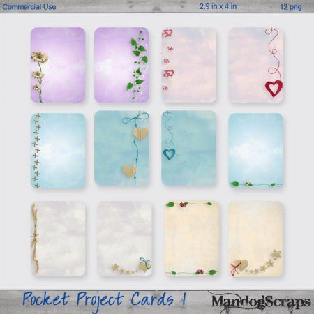 Pocket Project Cards 1