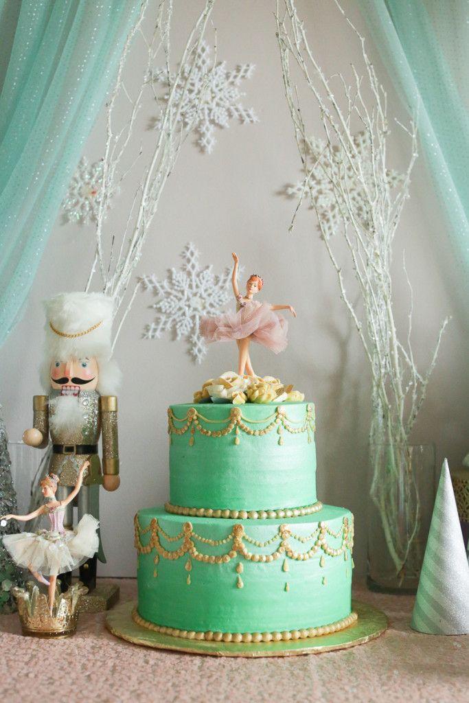 June S Winter Nutcracker 1st Birthday Party 1st Birthday