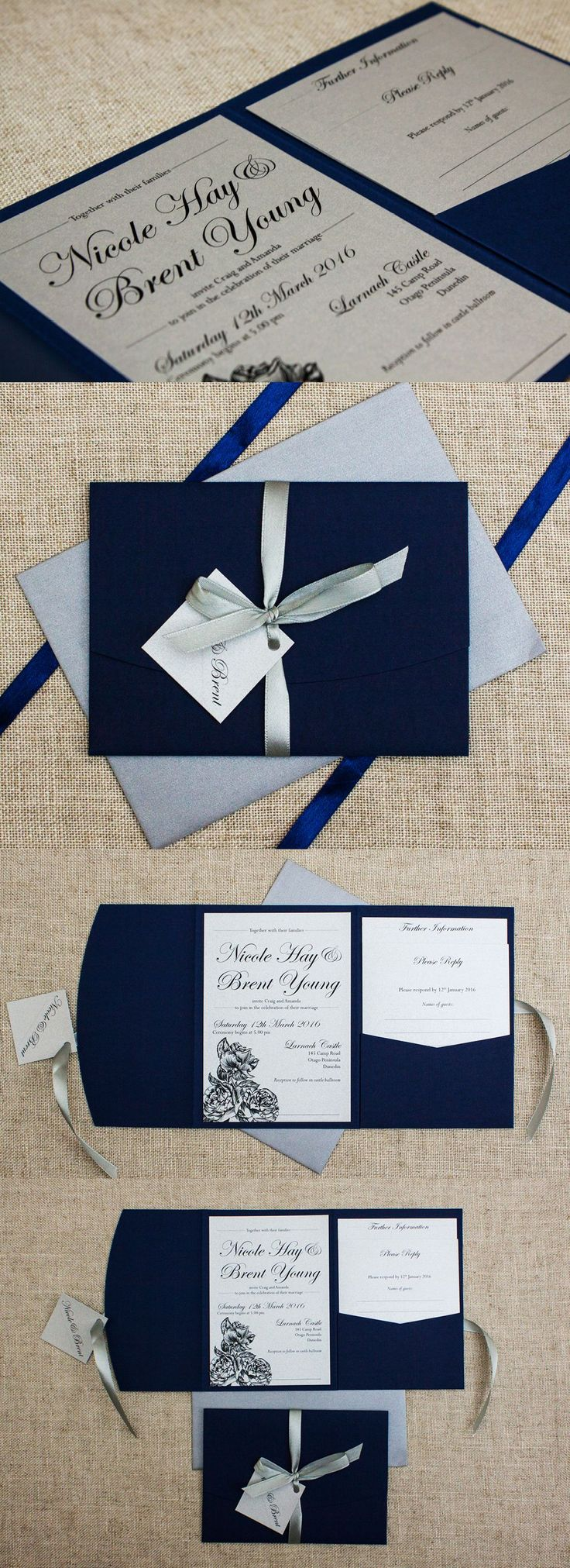 marriage invitation sms on mobile%0A Rustic Etched Roses Pocketfold Wedding Invitation  Be My Guest