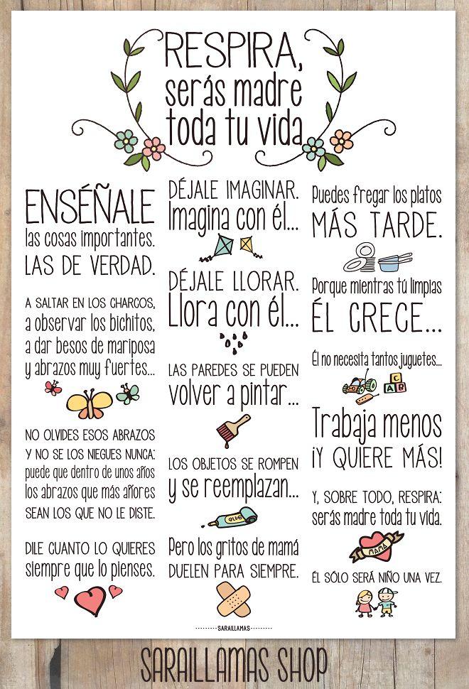 El Blog de Sarai Llamas: Respira... Serás madre toda tu vida...