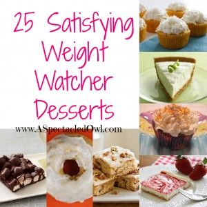 50 Weight Watchers Recipes to Help You with Your Weight Loss (A Spectacled Owl)