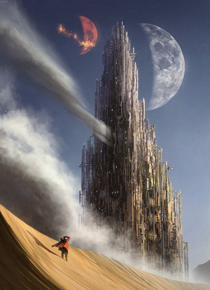 Gorgeous science fiction concept art by the always... | Cinema Gorgeous