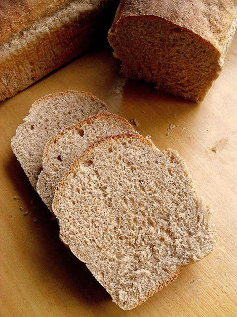 Lekcje w kuchni: Chleb półrazowy / Half Whole Wheat Bread