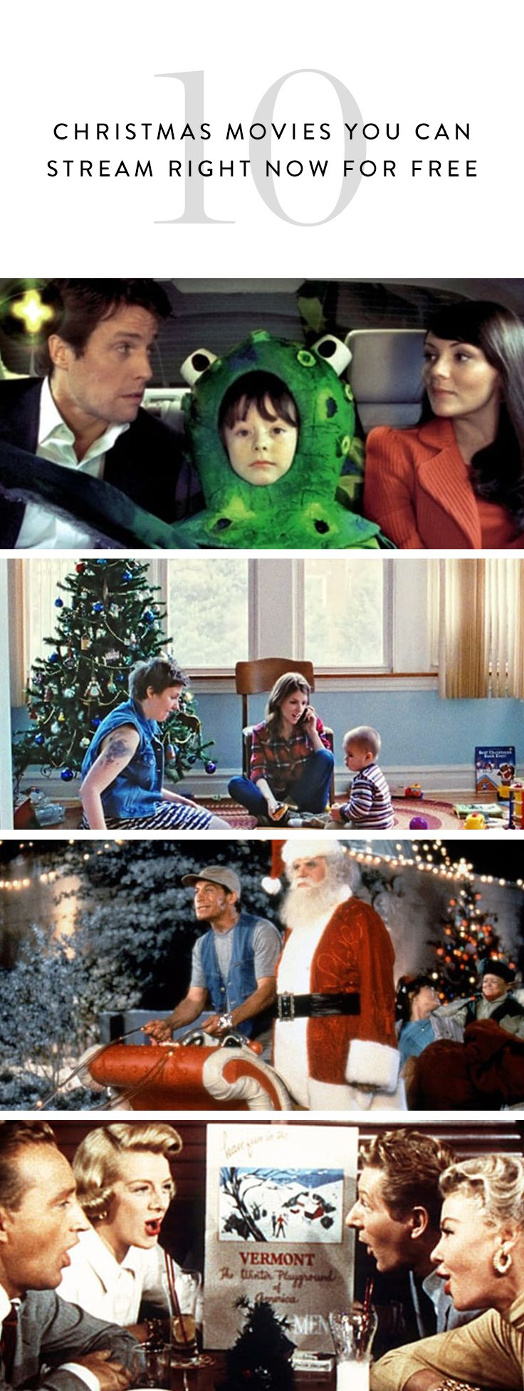 Who needs Christmas music when you can stream festive movies in the background while you shop online, wrap gifts and bake cookies? Here are ten of the best Christmas movies streaming now.