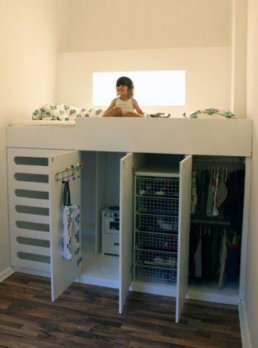 dormitorios compactos para habitaciones infantiles y juveniles,