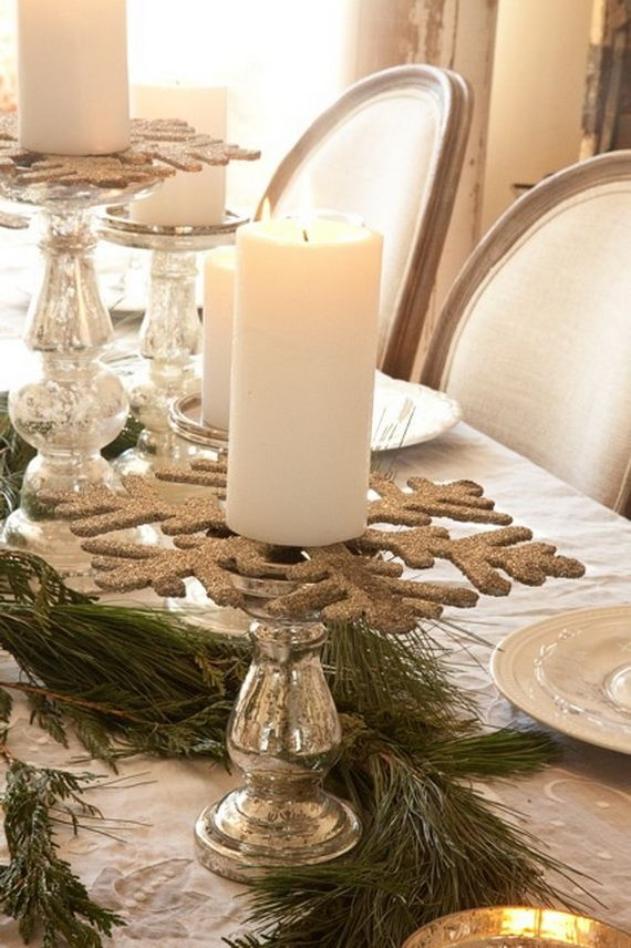 60 Inspiring Winter and Christmas Theme Wedding Centerpieces  Family Holiday