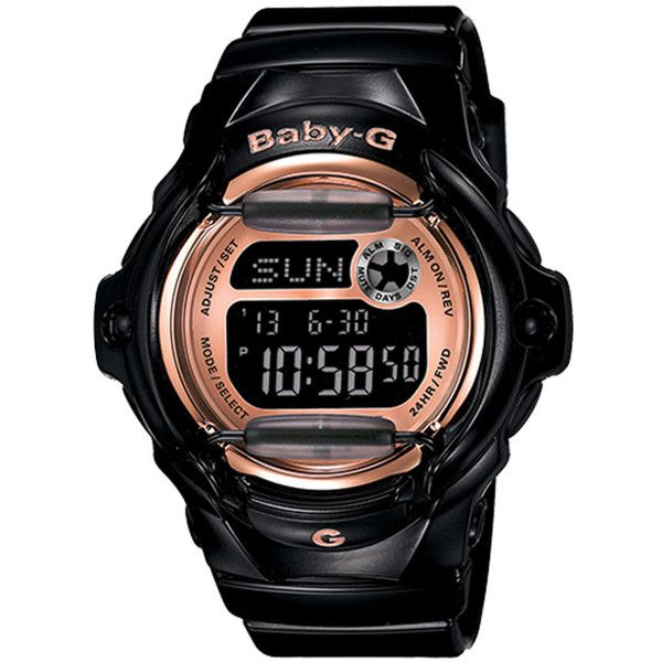 G-Shock Baby-G BG169G-1CR Watche (£64) ❤ liked on Polyvore featuring jewelry, watches, g shock wrist watch, g shock watches, digital watches, digital wristwatch and digital wrist watch