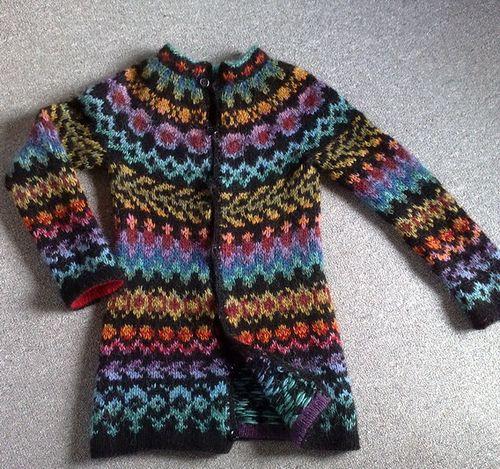 ...Endurreisn by Vedis Jonsdottir, as knit by PepsiMaG...