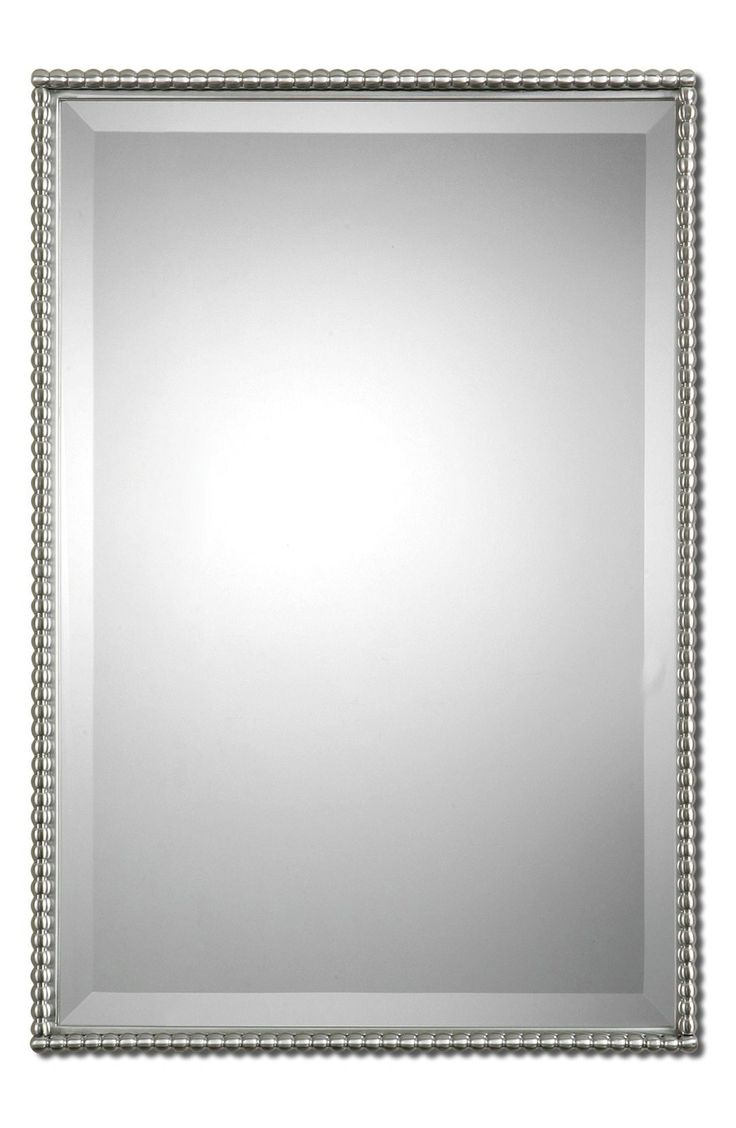 Uttermost 'Sherise' Brushed Nickel Mirror available at #Nordstrom