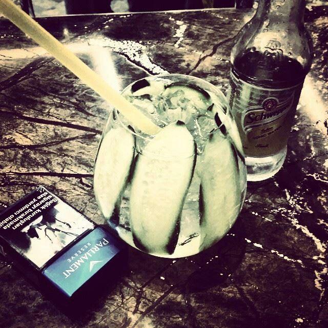 Hendriks tonic cucumber