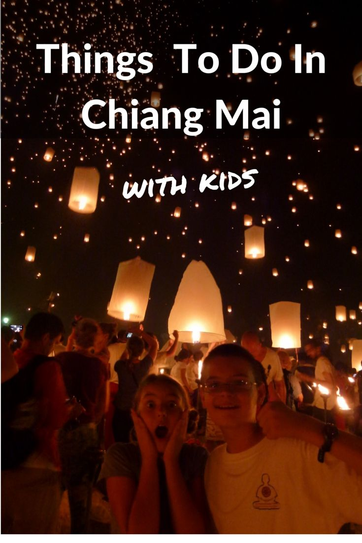 Things to do in Chiang Mai with kids, places to stay, places to eat.  A great family friendly guide.  Read more on WagonersAbroad.com