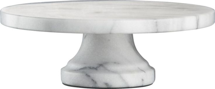 French Kitchen Marble Pedestal in Specialty Serveware | Crate and Barrel