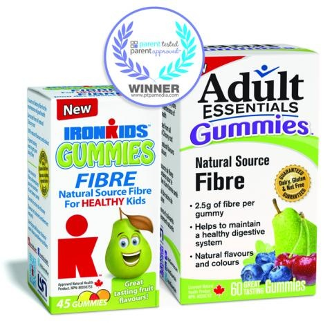 Adult and IronKids gummies