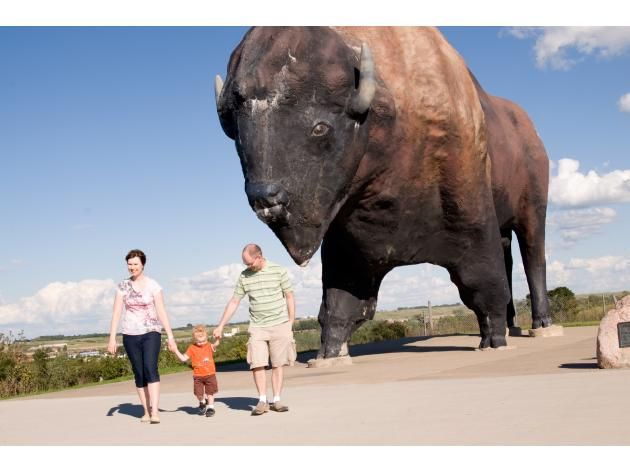 Buffalo City: Jamestown Attractions | Official North Dakota Travel & Tourism Guide