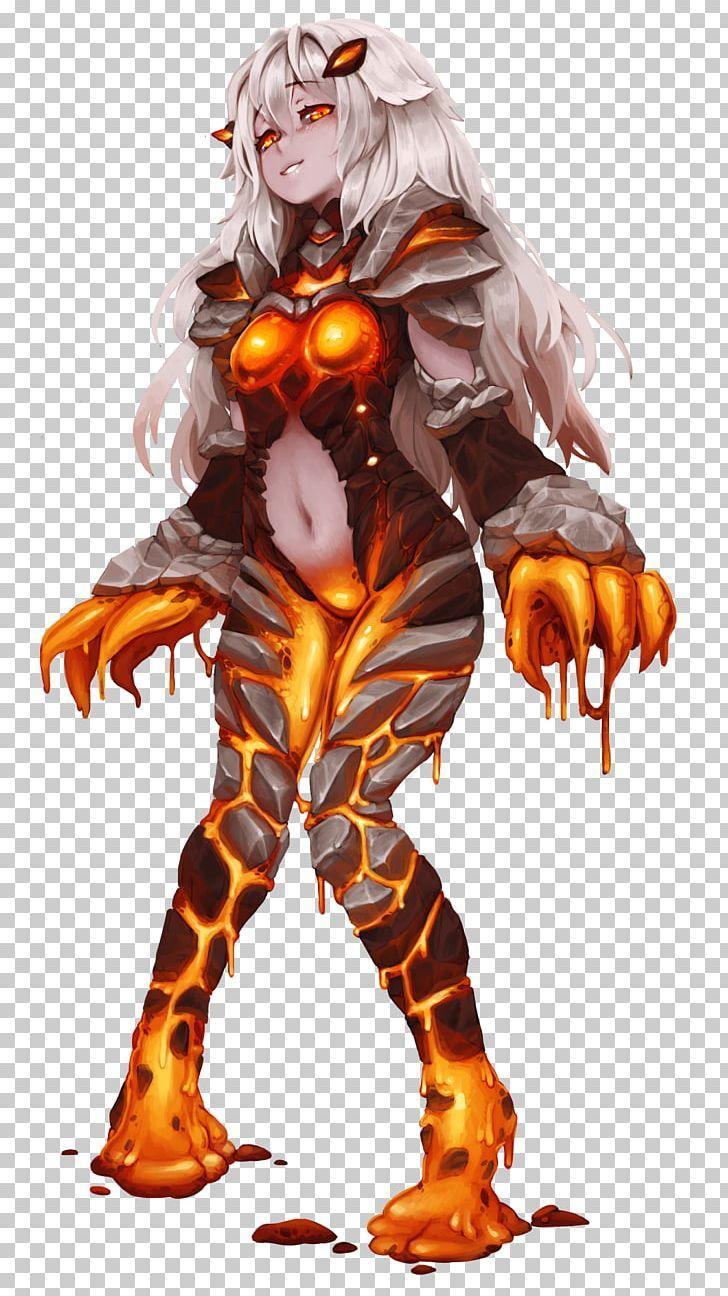Monster Girl Encyclopedia Golem Monster Musume PNG - black