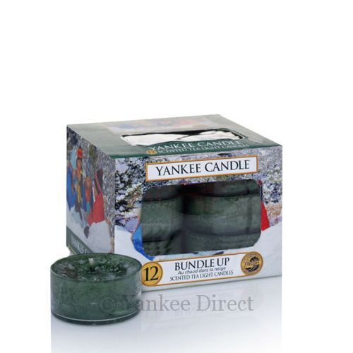 Yankee Candles UK   Yankee Candle Bundle Up Tea Lights