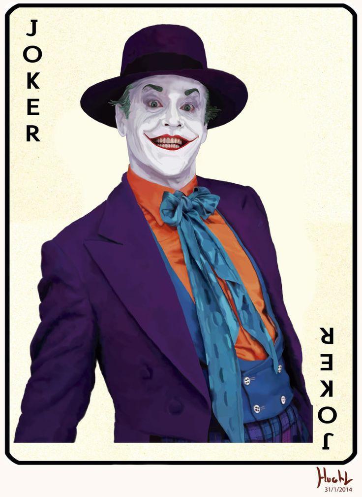 Jack Nicholson Joker by Shinnh on deviantART