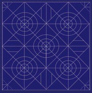 twobluecrows: Sashiko pattern