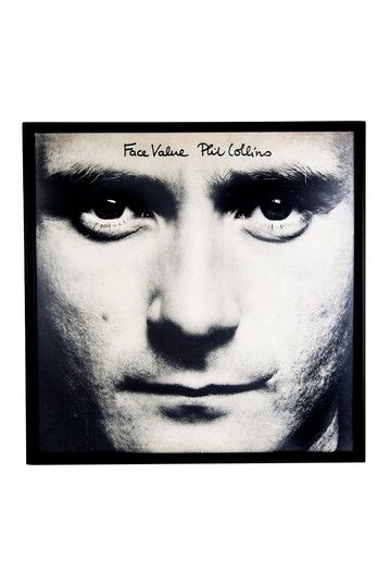 Phil Collins Face Value on HauteLook