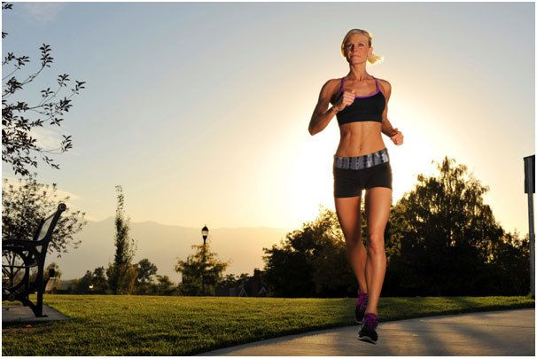 Running and Brisk Walking For Toned Muscular Thighs