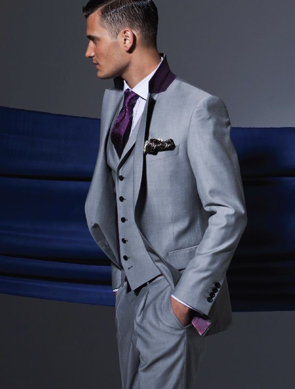 Jos A Bank Executive Collection Slim Fit Seersucker Strip...
